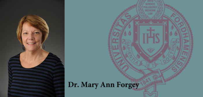 Dr. Mary Ann Forgey