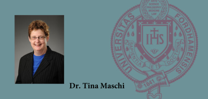 Dr. Tina Maschi's New Book Featured on Columbia University Press Blog