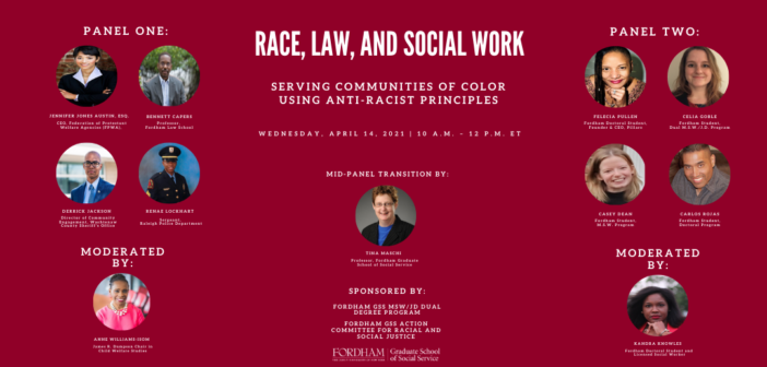 Event — Race, Law, and Social Work: Serving Communities of Color Using Anti-Racist Principles
