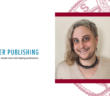 Headshot of Mackenzie Lerario next to fordham seal and springer publishing logo