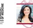 Headshot of Shenae Osborn over white background and red Fordham seal next to New York Academy of Medicine logo