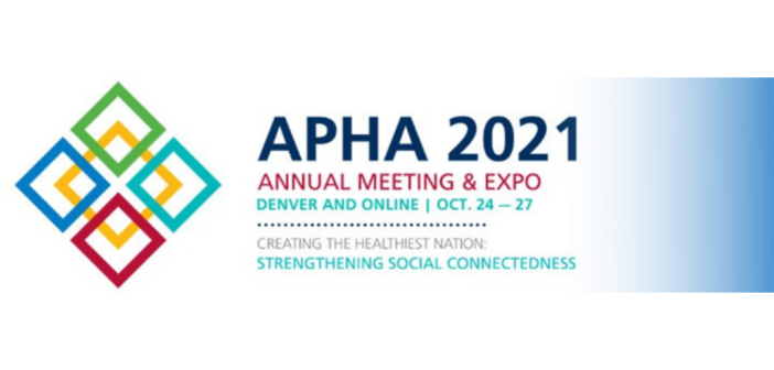 GSS Community Members to Present at APHA 2021